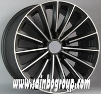 New design mag black car alloy wheels , aluminum car mag wheel rim 17 inch