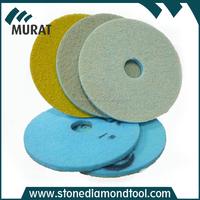 17 Inch Sponge Diamond Floor Polishing Pads for Concrete Cleaning