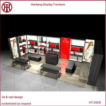 Modern style winter clothes shop design for sale