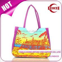 Hot Sale 600D oxford cloth promotion shopping bag cheap beach bag
