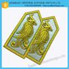 Hand Embroidery Badges &Hand Embroidery epaulet for garment /handmade custom bullion badges for garment