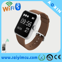 Bluetooth smart GPS wirst watch for ios/android Phones pulse rate wrist watch