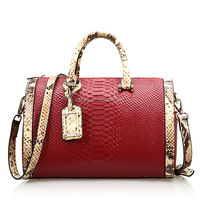 Women 100% genuine leather travel bags handbags made in usa