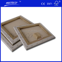 100% Cotton Blank Wholesale Stretch Canvas