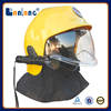 Best fire fighting helmet safety helmet with chin strap