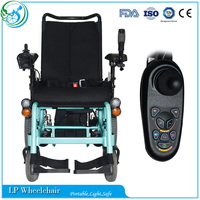 Outdoor luxury high back reclining electric wheelchair