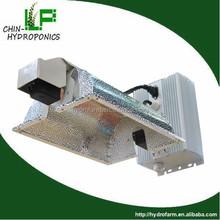 Hydroponics greenhouse double ended aluminium garden grow lights reflector fixture parts/DE lighting 1000 watt reflector