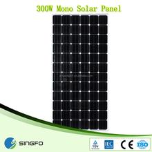 300w solar panel monocrystalline made in China
