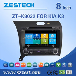car stereo for kia cerato double din car dvd with phonebook bluetooth USB swc tv