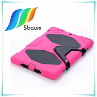 3 in 1 Anti-vibration cover for ipad ,military case for ipad , For Apple ipad hard cases