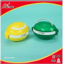 Factory direct sale plastic football design children lunch box