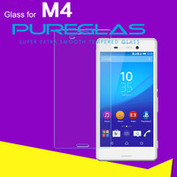 cell phone screen protective film for Sony Xperia M4 phone tempered glass protector ,OEM is welcomed