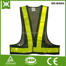 good quality adult safety mesh reflective tape clothing
