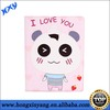 Cute Cartoon Kids love Leather Case Cover for ipad mini.