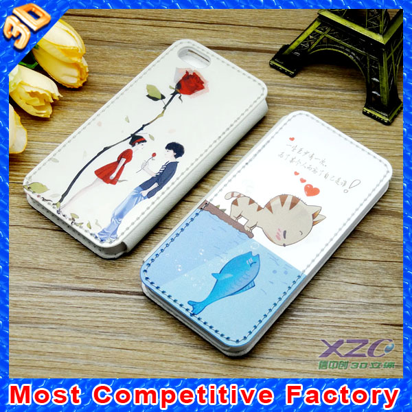 factory wholesale popular 3d mobile cover for iphone and samsung mobile phone cover