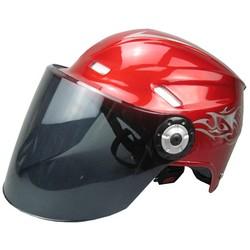 Motorcycle Adjustable Summer Half Face Helmet