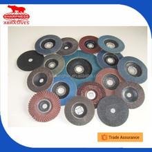 HD033 grinding metal/wood/stone/glass/furniture Aluminum Oxide, Calcined Abrasive Zirconia flap disc