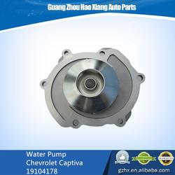 Car Auto parts water pump for Chevrolet Captiva 19104178