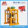 Price concrete block machine QT4-40 hollow block making machine