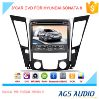 touch screen car dvd gps navigation system with radio/mp3/gps for HYUNDAI SONATA 8
