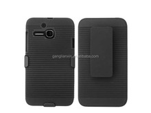 Best selling hot chinese products stripe Kickstand phone case for Nokia C3