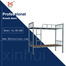 high quality dormitory furniture / Metal Frame Bunk Beds for school / home