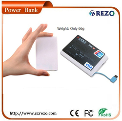 2000mah portable battery charger for moto x