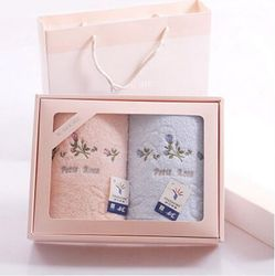 2015 custom fashion gift boxes for towels