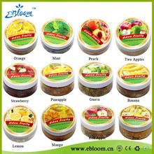All clear glass hookah fruit flavors with best smoking taste