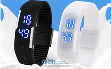 LED bracelet watch in low price muti-colours 50 meters waterproof