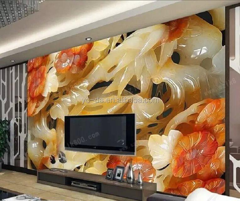 Wholesale china 3d printer 3d mural wall printer digital for Digital mural printing