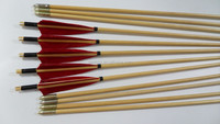 Traditional Wooden Arrows Hunting Arrow Shooting Target