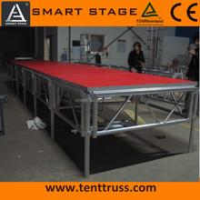 1.22 x 2.44 aluminum framed assemble stage platform for sale