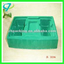 custom customer design colorful plastic flocked blister trays for premium gifts