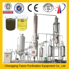 Automatic backwashing and Decolorization technology Used Ship oil Recycle Equipment
