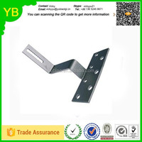 customize metal stainless steel 304 or aluminium pv solar panel bracket for roof