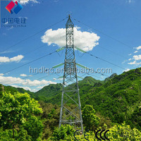 Standard towers for 220kv transmission line