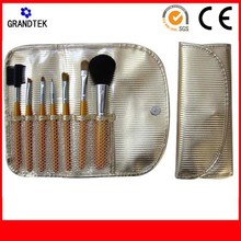 cosmetic tool kits portable goat hair 7 pcs makeup brush set