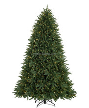 8ft prelit Christmas Tree full lighted plastic christms tree