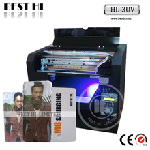 Small Size A3, A4 Digital Flatbed UV Printer, Printing On Pen, Case, Cards, USB etc.