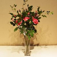 real touch PU single stem rose artificial flower direct factory wholesale lifelike export