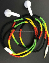 Promotional good pricing strong color light 3.5mm stereo CE ROHS approved fashion in-ear cheap earphone for Phone