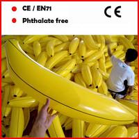 custom logo printing Giant advertising inflatable banana toys for sale