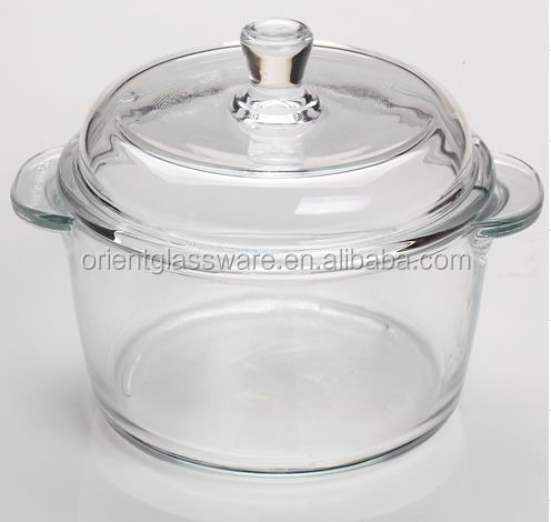 High Quality Clear Glass Cooking Pot With Glass Lid Buy