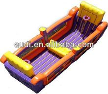 Commercial PVC tarpaulin Inflatable bungee basketball