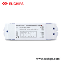 Factory 110V AC or 220V AC Driver Dimmable 1-10V DC Signal 300mA 500mA 700mA Constant Current LED Drivers 15W 25W Output Power