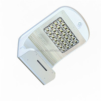 Rechargeable Aluminum Outdoor Wall Light With Motion Sensor