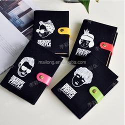 South Korea stationery wholesale blue fruit - Hip Hop tribal fabric notebook notebook notebook hardcover 162g