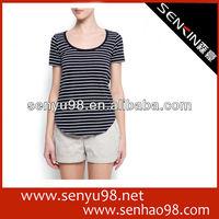 Embroider Heavy weight cotton pique t shirt