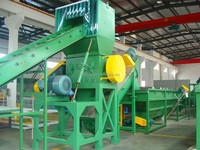 New designed pe pp film recycling washing cleaning line